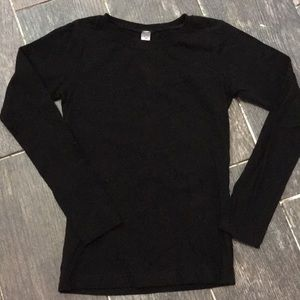 Other - Black long sleeve size 6/6x